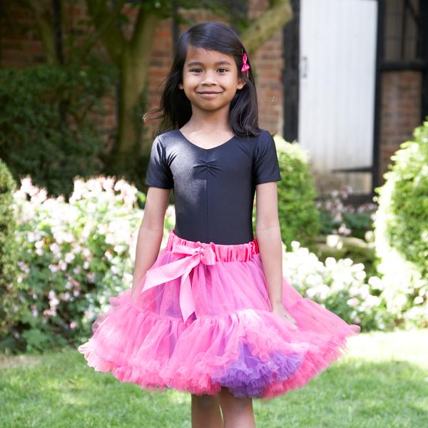 f3b792f2e Deep Pink Tutu Skirt | Cachet Kids