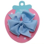 Sky Blue Boutique Bow Large Grosgain Ribbon