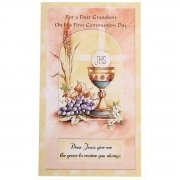 Grandsons First communion card