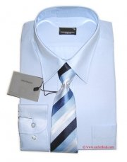 High Quality Boy Formal Blue Shirt With Tie