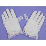 Kids Bridesmaid White Lace Gloves Upto 5 Years