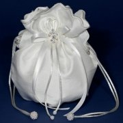 Plain Taffeta Holy Communion Dolly Bag