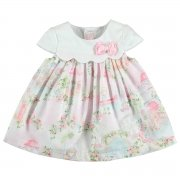 Mayoral Baby Girls Pink Floral Dress