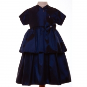 SALE Baby Girls Navy Dress