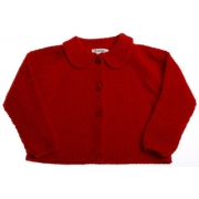 SALE Sarah Louise girls Knitted jacket in red