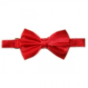 Boys communion red bow tie