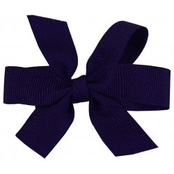Purple Boutique Hair Bow