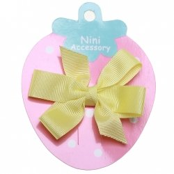 Lemon Yellow Boutique Bow