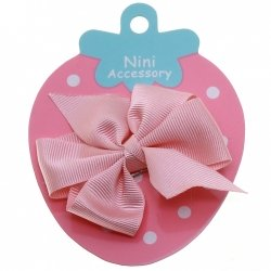 Pink Boutique Bow Large Grosgain Ribbon