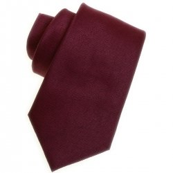 Boy tie in plum patterned fabric