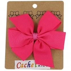 Large Boutique Fuchsia Bow