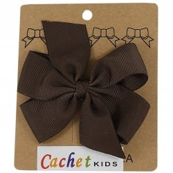 Large Boutique Brown Bow