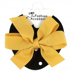 Gold Colour Boutique Bow