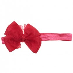 Red Bow And Headband 2 In 1