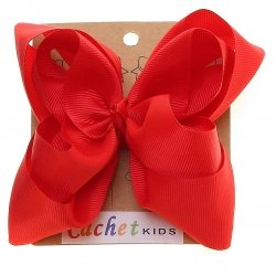 Large Red Colour Double Stacking Bow