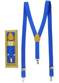 Premium Quality Childrens Royal Blue Braces For 6 to 13 Years