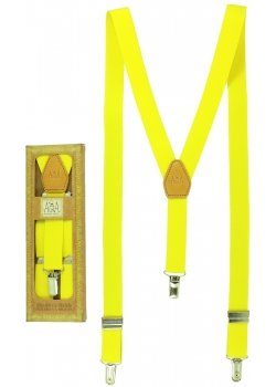 Childrens Yellow Braces For 6 to 13 Years Top Quality Made In Spain
