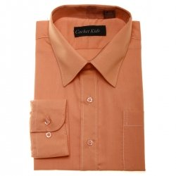Boys Formal Shirt Boys Orange Shirt