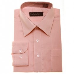 Boys Formal Shirt Boys Peach Shirt
