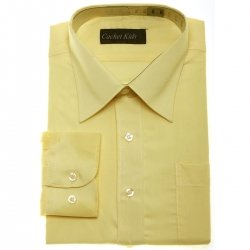 Boys Formal Shirt Boys Yellow Shirt