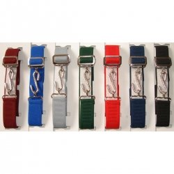 Adjustable elasticated belt