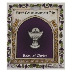 First Holy Communion Pin Chalice