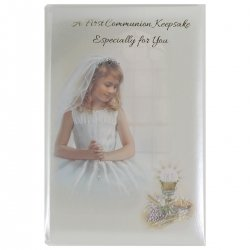 Girls First Holy Communion Special KeepSake Booklet