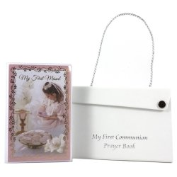 Girls First Communion Missal With A Carrying Case