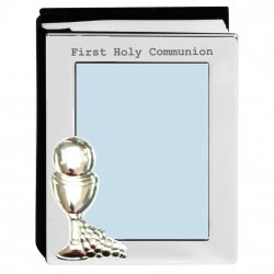 First Holy Communion Silver Plated Photo Album And Frame