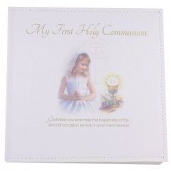 Girls First Holy Communion Photo Album