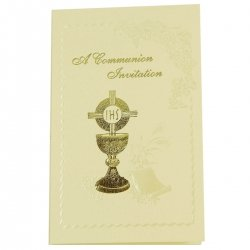 First Holy Communion Invitation Cards Pack of 12