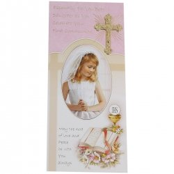 My Daughter First Holy Communion Card