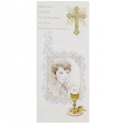My Grandson First Holy Communion Card