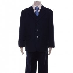 High Quality Boys Navy Suit 3 Piece