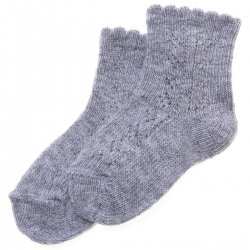 Baby Grey Socks Made in Spain For Colder Weather
