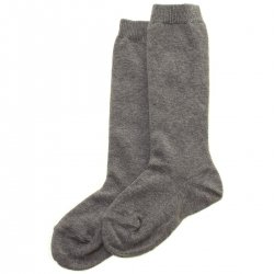 Quality Spanish Knee High Grey Socks