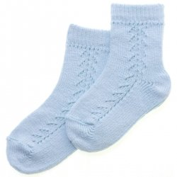 Baby Boys Blue Socks High Quality Made in Spain