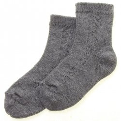 Baby Boys Grey Socks High Quality Made in Spain