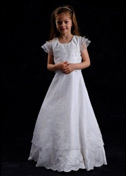 Layered First Holy Communion Dress