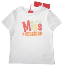 SALE E15688 ELLE girl t shirt in white