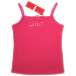E15728 ELLE girl vest in RED