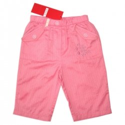 ELLE sales baby girl trousers in pink