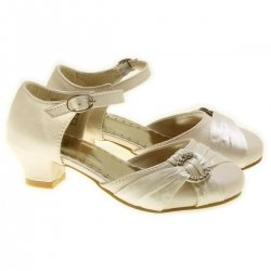 Special Occasions Girls Ivory Shoes