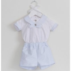 Sale Dolce Petit Boys White Blue Nautical Styled Outfit