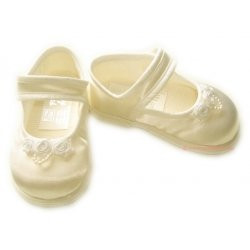 Baby Girls Ivory Shoes First Walker