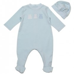 Emile et Rose Boys All in One Pale Blue