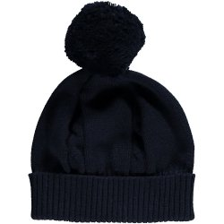 Emile et Rose Baby Navy Knitted Bobble Hat