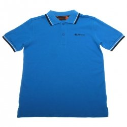 Ben Sherman boys blue polo