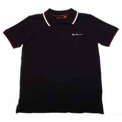 Ben Sherman boys navy polo