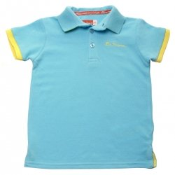 Ben Sherman Iceland Blue Baby Boys Polo Top
